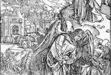 Albrecht Dürer & Lucas Cranach / Die Holzschnitt-Apokalypsen von 1498 und 1522 (Septembertestament)