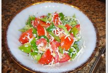 Recipes - Salad / Delicious Salad recipes.  Salads are my go to meal and variety is the key. Salad dressing can be found here too.