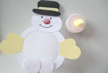 Kerstdecoratie school