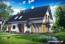 Najlepsze projekty domów 2013