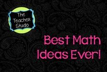 Best Math Ideas Ever:The Teacher Studio: / A collection of photos, blog posts, products, and freebies that help create a high powered, constructivist math class!  Find everything from assessment to fractions to problem solving to geometry to differentiation and more!  Games, lesson ideas, blog posts, projects, math misconceptions--all in the name of improving  math instruction and student learning.
