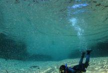 Flutuação / Snorkelling Bonito MS / Os passeios de flutuação em Bonito MS são impressionantes. Você pode flutuar em águas completamente cristalinas, límpidas e com o fundo do rio cheio de vegetação e peixes. É maravilhoso e há diversos rios para fazer esse passeio.