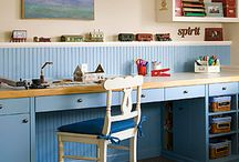 craft room / by Amy Kayler