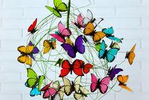 Lampara de Mariposa