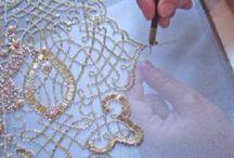 オートクチュール刺繍
