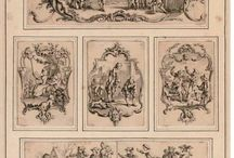 """Rococo in Britain / Rococo in Great Britain was termed 'french taste"""", adapted in furniture, silver, porcelain and silk. Thomas Chippendale adopts style and transforms furniture and Hogarth develops theoretical foundation for Rococo beauty.  / by Morgan Sedgley"""