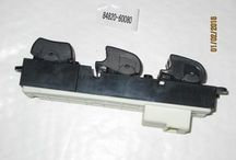 TOYOTA FUN CARGO WINDOW MASTER SWITCH 84820-16070 1.3 1300 CC 2NZ-FE / 2NZFE