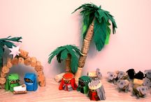 Chrismas nativities / Our collection of nativities made for school contests during last 5 years