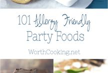 Allergy Friendly Party Ideas
