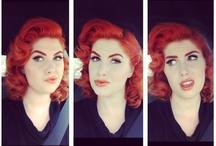 Doris mayday & Micheline Pitt hair ❤ / by Stephanie Smith