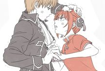 Gintama/ Sougo and Kagura ~