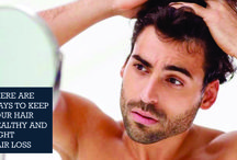There are ways to keep your hair healthy and fight hair loss