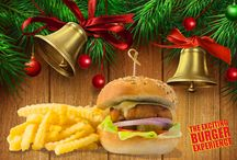 Xmas Burgers / Meet our xmas burgers!