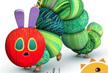 The Very Hungry Caterpillar Party Supplies / The Very Hungry Caterpillar Party Supplies Collection from Eric Carle #theveryhungrycaterpillar