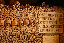 Catacombs...Paris / by Glenda Collins Emerson