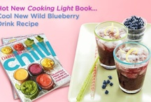 Chill: Smoothies, Slushes, Shakes, Juices, Drinks & Ices / Recently, we partnered w/ Cooking Light magazine to help launch its new cookbook Chill: Smoothies, Slushes, Shakes, Juices,Drinks & Ices which includes a wonderful collection of healthy summer beverage recipes. Want to win a copy? - See more @ http://www.wildblueberryhealthblog.com/#sthash.yVPCZLed.dpuf / by WildBlueberries