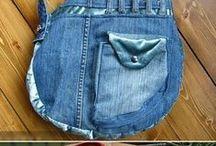 идеи переделок из джинс