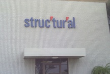 3D Building Letters Installed in Anaheim , CA.