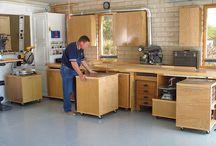 Wood Craft - Garage Workshop Ideas