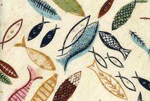 tekstil trykk