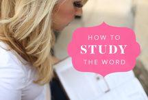 Bible Studies / by Margie Mellon