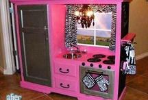 Entertainment Center Play Kitchen