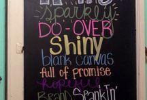 Chalkboards / by Tammy Kent Horvath