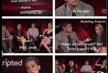 Jennifer Lawrence and Josh Hutcherson