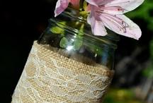 vidros reciclados / by Terezinha Silva