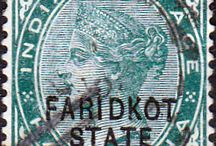 India - Faridkot Stamps