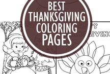 Thanksgiving with Toddlers / Great tips and fun ideas for celebrating Thanksgiving