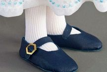 tutorials: shoes / Tutorials and patterns for dollhouse scale shoes, boots, sandals, and slippers
