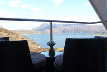 Case Study: Alistair Mackenzie, Glass Balustrade, Scotland / Balcony Systems Glass balustrade makes an 'unbelievable difference' to Alistair Mackenzie's luxury holiday home on the exposed West Highland Coast in Scotland.