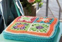 Crochet - Pillows, Poufs and Cushions
