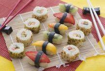 Sushi di frutta