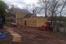 Construction at Metlar Bodine House Museum / Follow us as we grow our new addition