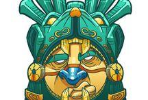 Masks, totems & tribal