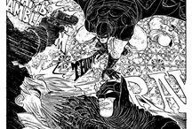 Páginas de quadrinhos e storyboards