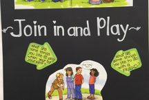 Join in and Play - Kinder Project Cornerstone / Activities for the book Join in and Play