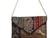 Bags / Traditional bags and clutches can be carried with all types of attire.