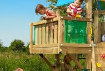 Jungle Gym Modules / Jungle Gym Modules are designed to enhance a child's play experience from their Jungle Gym.