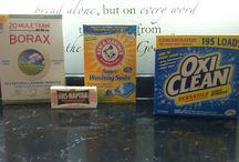 Cleaning supplies / by Candace Zakhir