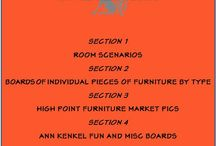 INDEX  FOR  VIEWING BOARDS / by Ann Kenkel Interiors