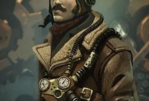 Steampunk personagens