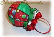 Kimekomi Ornaments / These are Japanese Kimekomi ornaments. Some are my creations and some are other crafters. / by Miss Joys Ornaments
