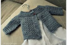 Baby crochet and sewing