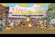 A LIAR'S AUTOBIOGRAPHY @ SIFF Cinema / Monty Python's Graham Chapman selfishly dropped dead in 1989, but not before he had taken the trouble to record himself reading his book, A Liar's Autobiography. Now those recordings have been ingeniously used as narration for the 3D animated story of his life in a film featuring 14 different animation companies, working in 17 different styles, and with the voice talents of 5 different Pythons (and a few surprise guests).  / by SIFF