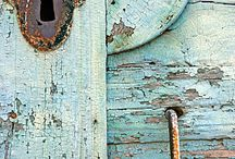 Patina, Rusty, Chippy, Worn, Faded / Imperfection is perfection