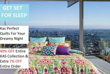 KAS Discount Offers / Elan Linen Offerings about KAS discounts on bedding and accessories.
