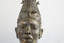Benin Queen Ife Bronze Head